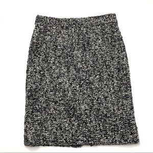 J. Crew Wool/Alpaca Tweed Boucle Pencil Skirt